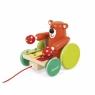 Janod Игрушка-каталка Мишка с ксилофоном