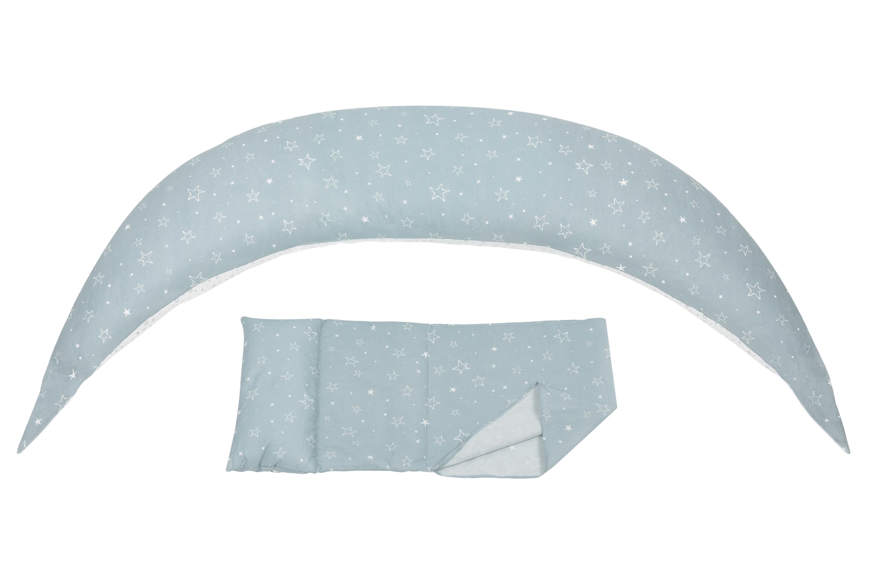 Nuvita Подушка для беременных 10 в 1 DreamWizard (серая)