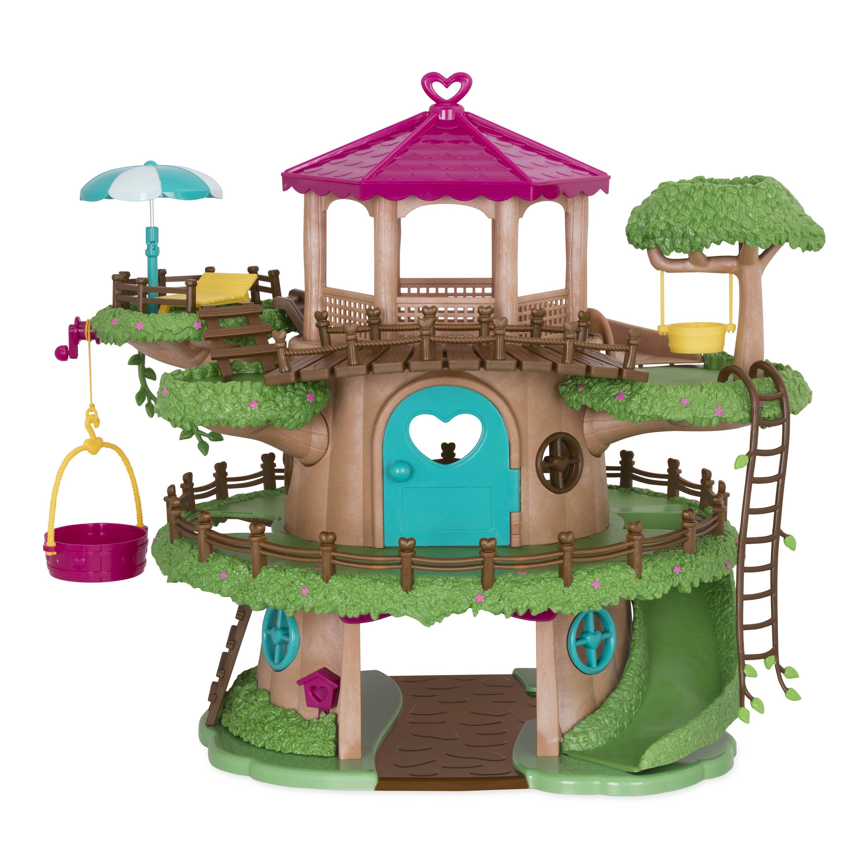 Li`l Woodzeez Игровой набор - Дом на дереве