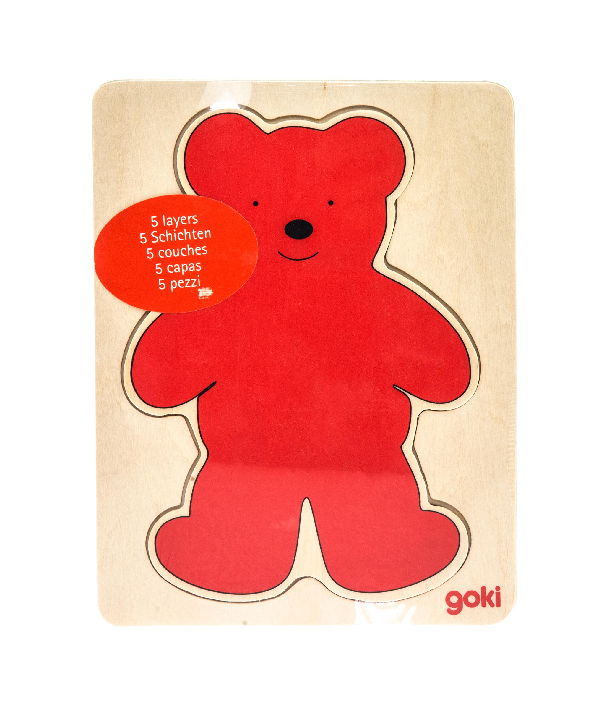 goki Розвиваюча гра Різнобарвні ведмедики