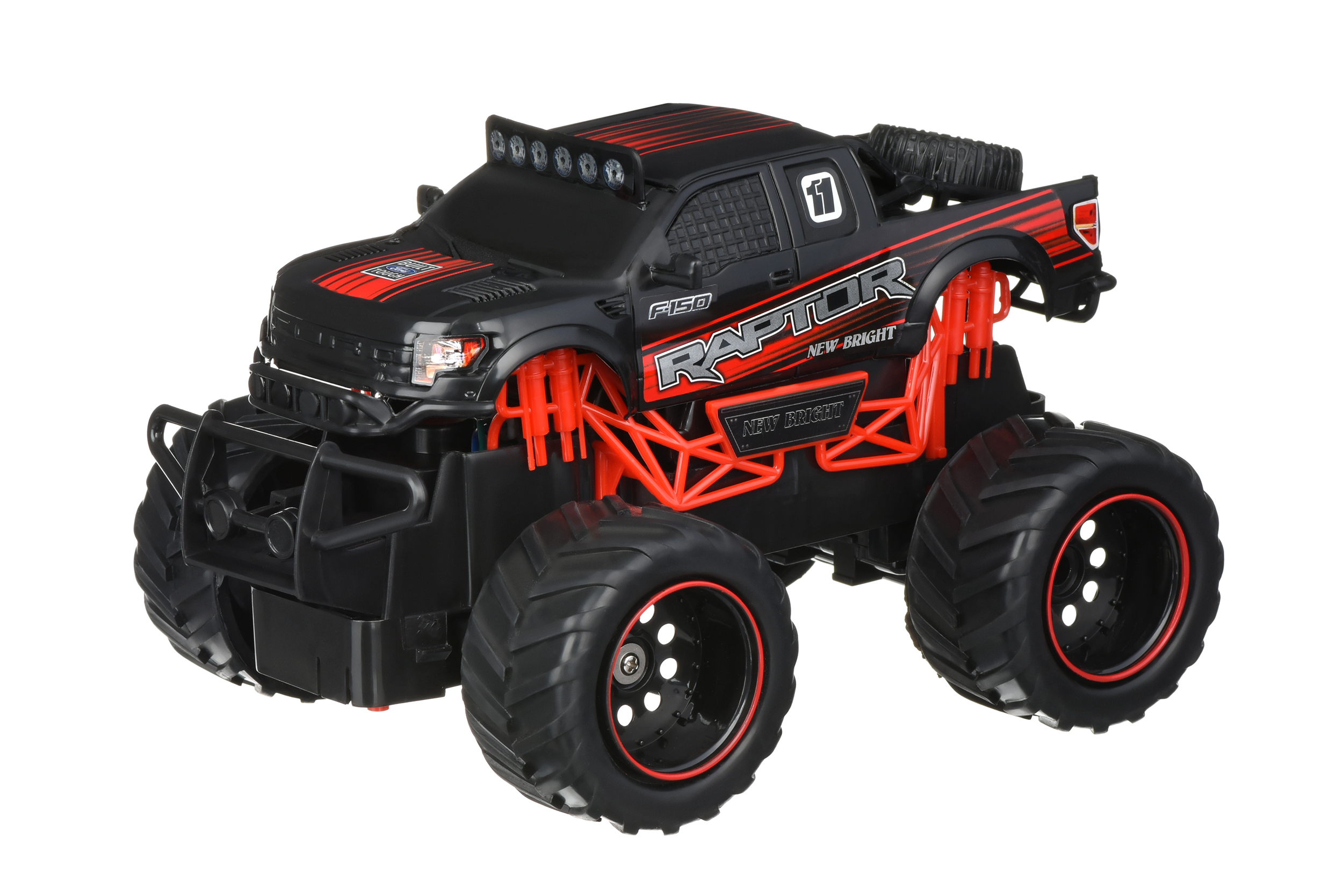 New Bright Машинка на р/к OFF ROAD TRUCKS 1:24 Raptor