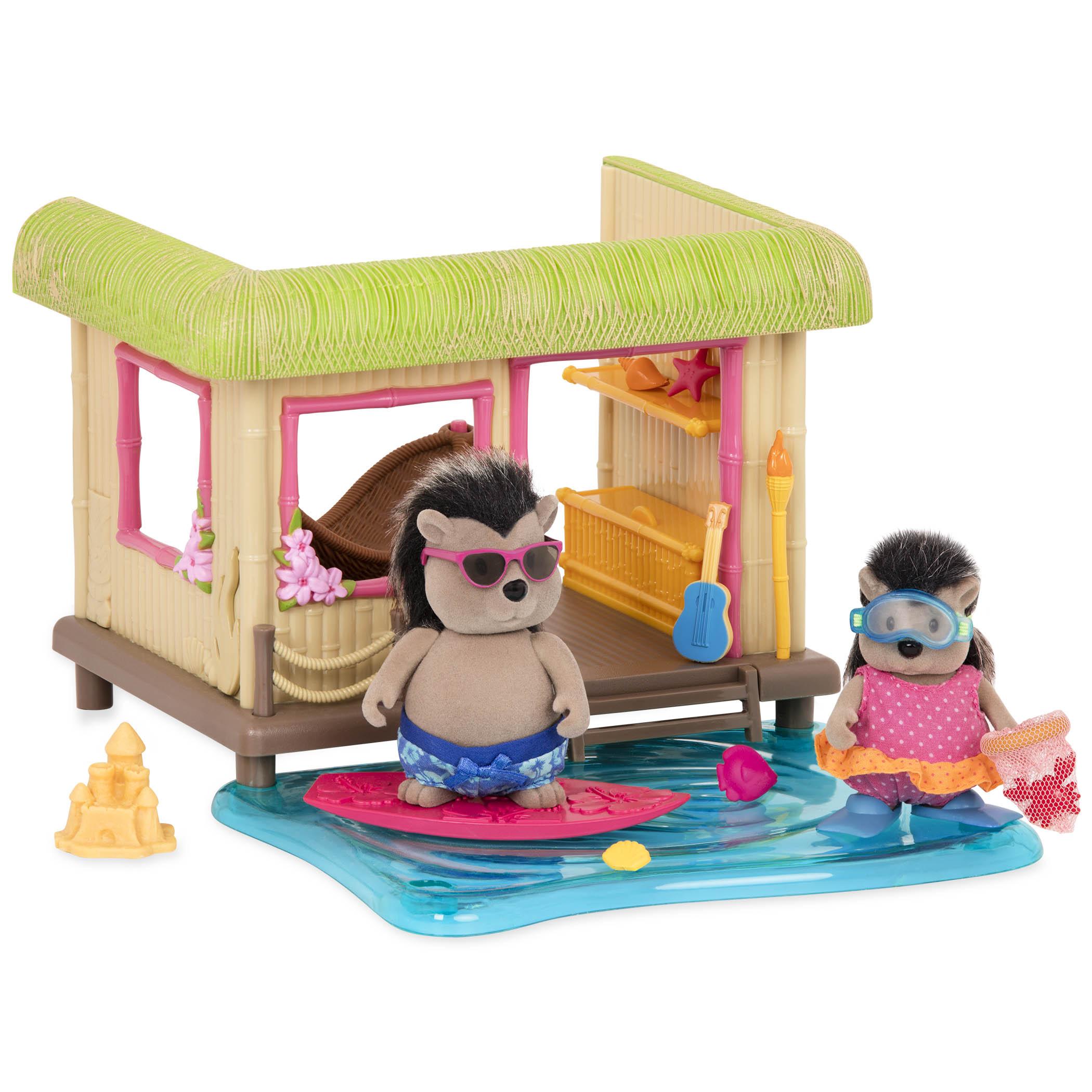 Li`l Woodzeez Игровой набор - Пляжный домик