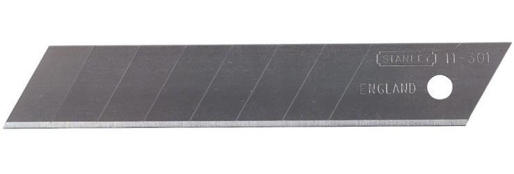 Stanley 1-11-301 Лезвие 18мм с отламывающимися сегментами 10шт.
