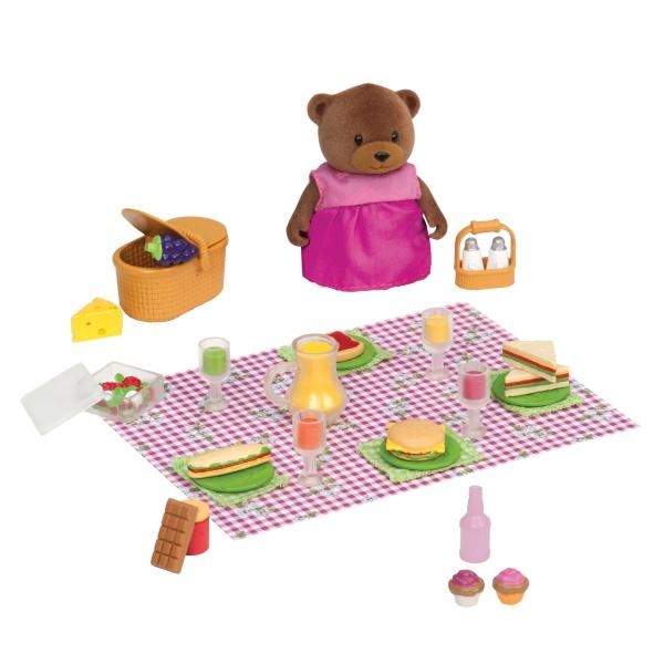 Li`l Woodzeez Игровой набор - Пикник