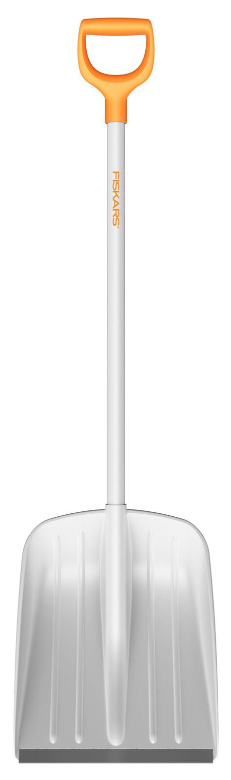 Fiskars Лопата для уборки снега белая SnowXpert, 131 см, 1400г