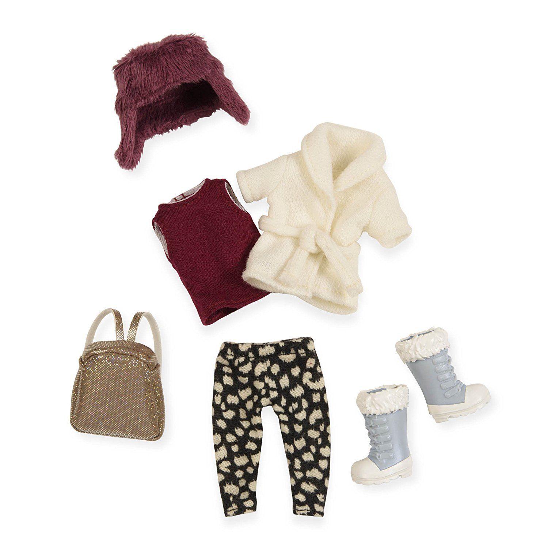 LORI Набір одягу для ляльок - Теплий жакет із шапкою