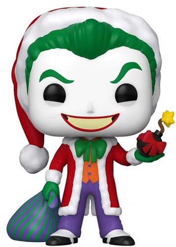 Funko Колекційна фігурка Funko POP! DC: Holiday: Santa Joker