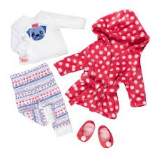 Our Generation Набір одягу для ляльок Deluxe для сну