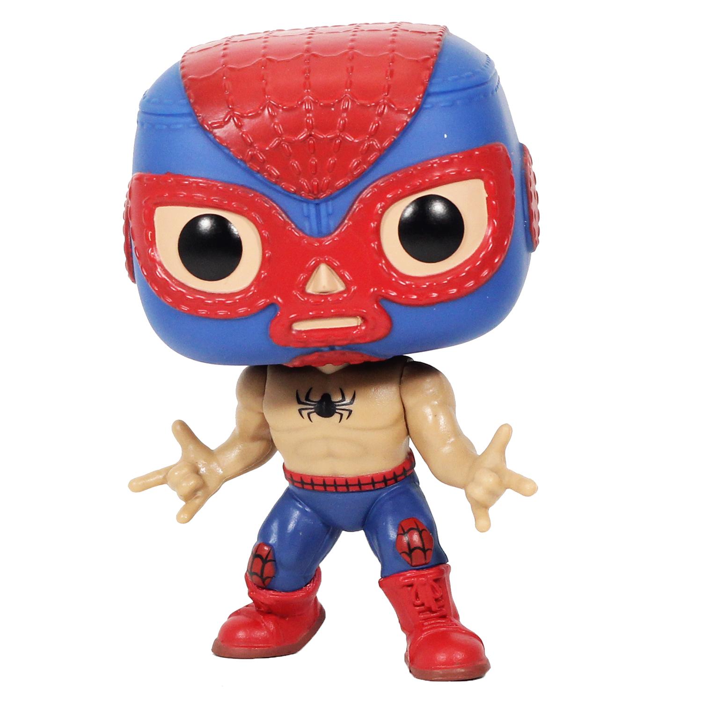 Funko Колекційна фігурка FunkoPOP! Bobble: Marvel: Luchadores: Spider:Man 53862