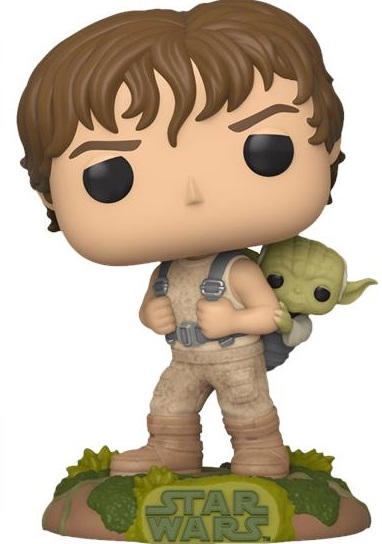 Funko Коллекционная фигурка Funko POP! Star Wars: Training Luke with Yoda