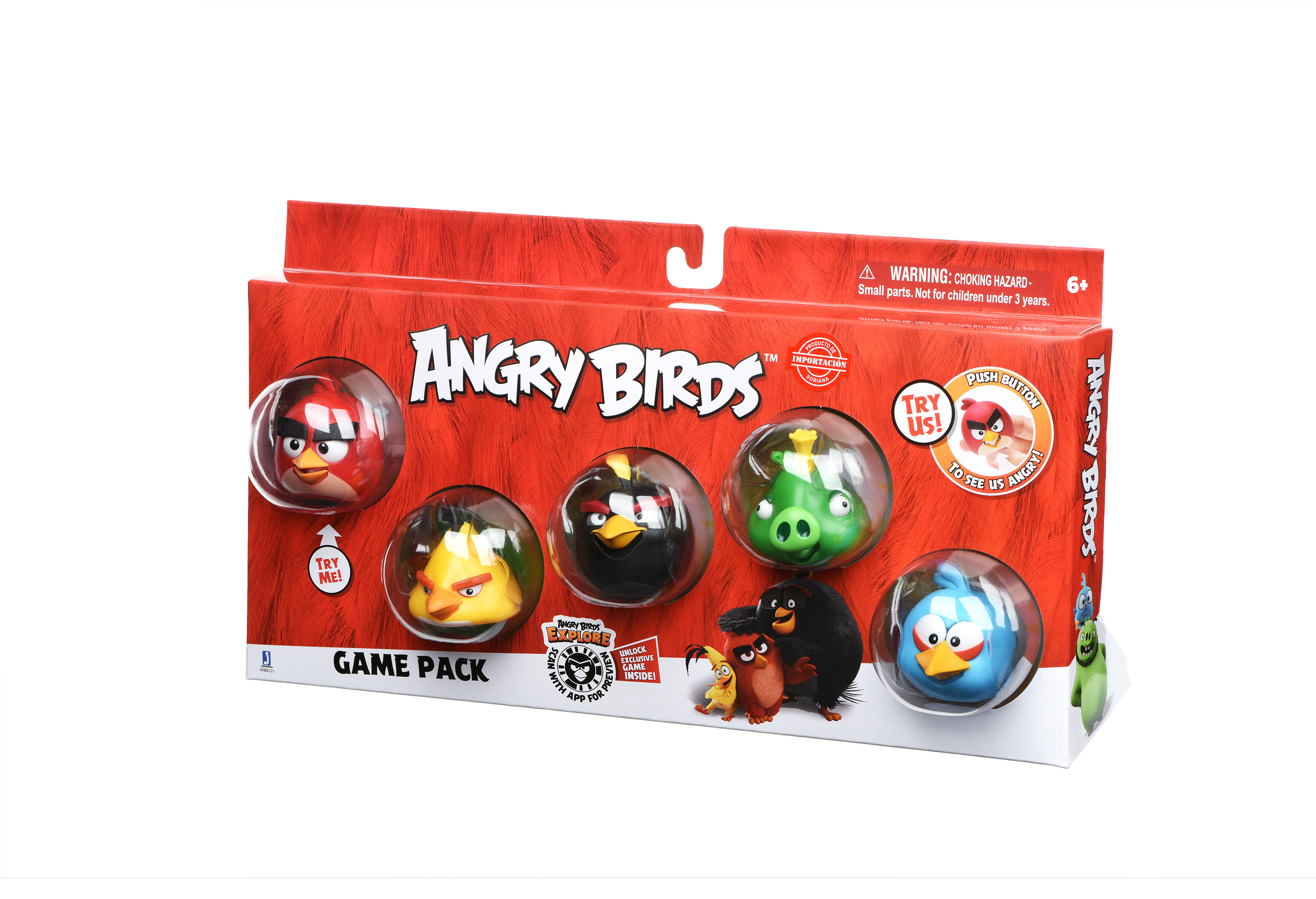 Angry Birds Ігрова фігурка Game Pack (Core Characters)