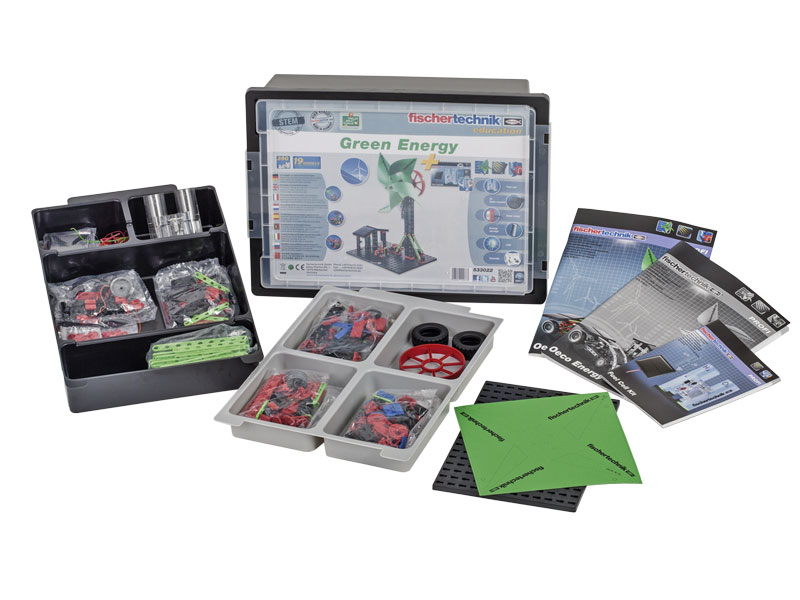 fischertechnik EDUCATION Зелена енергія (включаючи комплект паливних елементів)