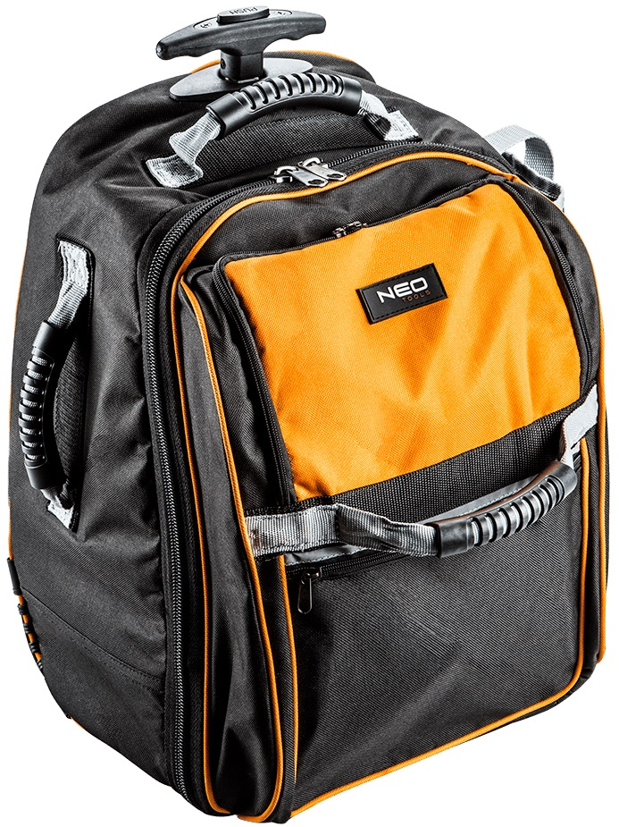 Neo Tools 84-303 Рюкзак для інструментів на колесах, 20 кишень, телескоп.ручка