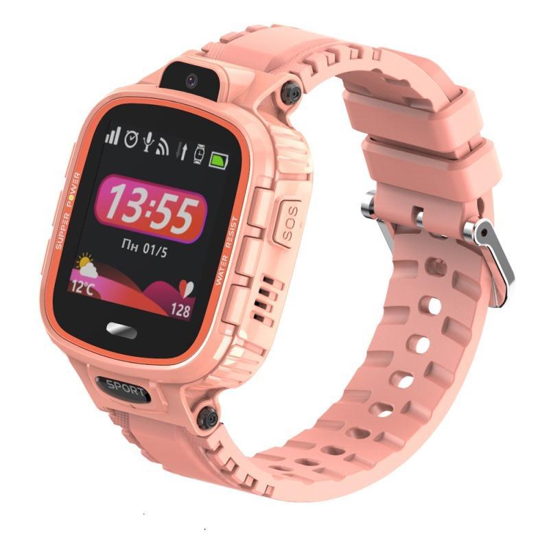 GoGPSme Детские телефон-часы с GPS трекером GOGPS ME K27[K27PK]