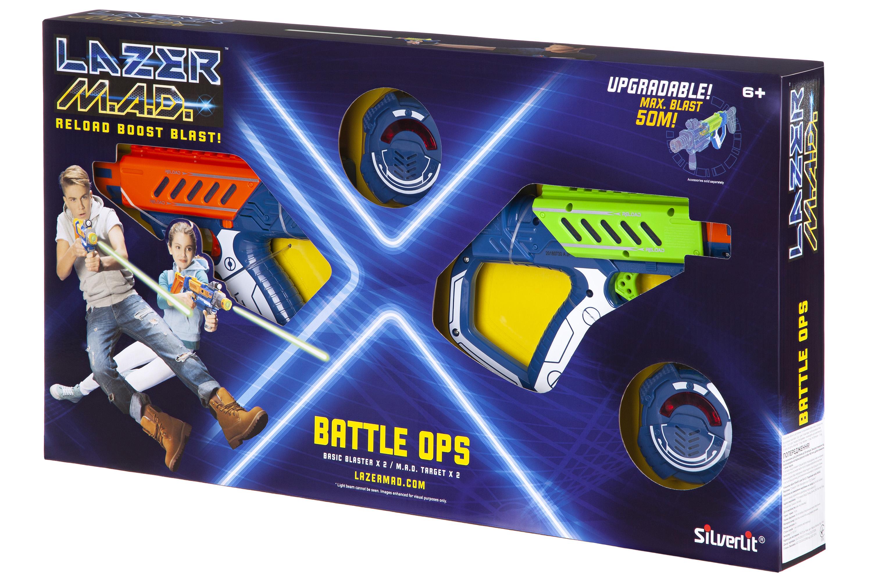 Silverlit Lazer M.A.D Іграшкова зброя Lazer M.A.D. Подвійний набір