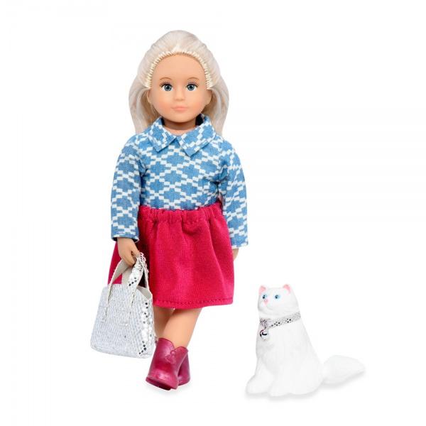 LORI Кукла (15 см) Кайденс и кошка Кики