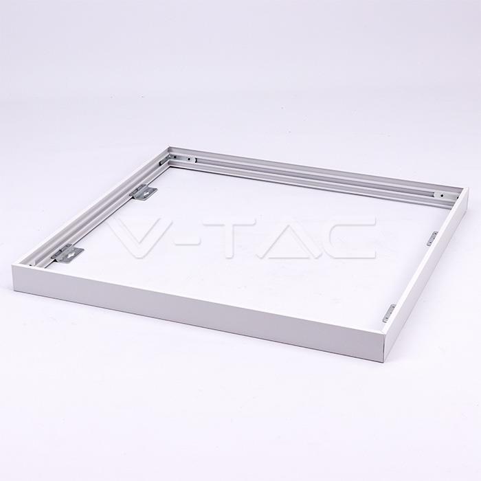 V-TAC Рамка для накладного монтажу, для панелі 600х600mm, SKU-8156, білий