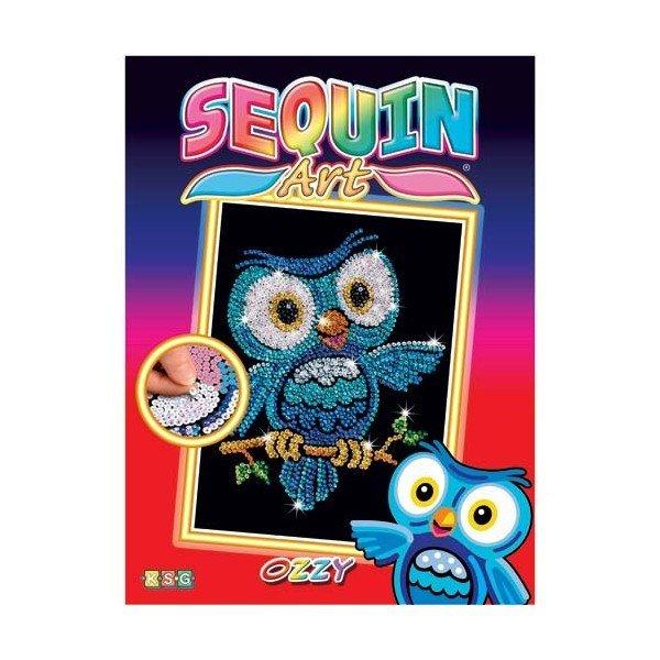 Sequin Art Набір для творчості RED Ozzy Owl