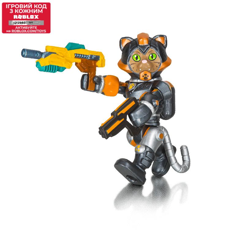 Roblox Ігрова колекційна фігурка Core Figures Cats...IN SPACE: Sergeant Tabbs W5