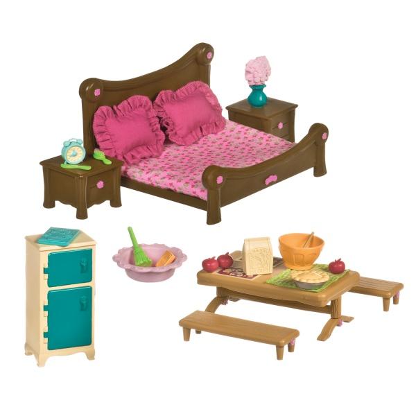 Li`l Woodzeez Игровой набор - Спальня и столовая