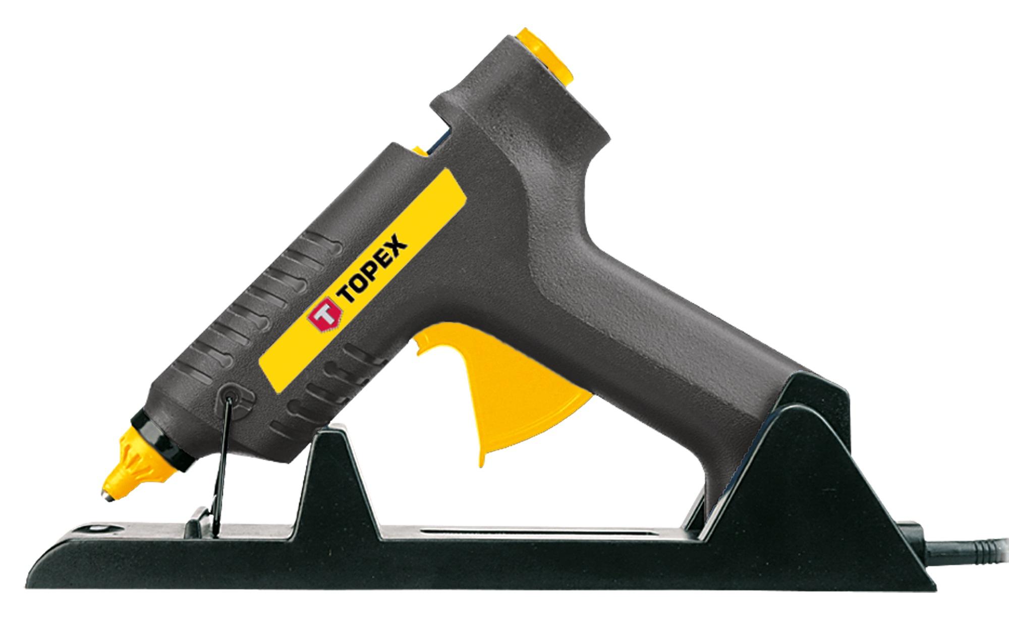 Topex 42E511 Пістолет клейовий, 11 мм, 80Вт, бездротовий