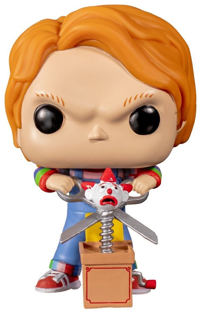 Funko Коллекционная фигурка Funko POP! Vinyl: Horror: Chucky w/Buddy & Giant Scissors (Exc) 44836