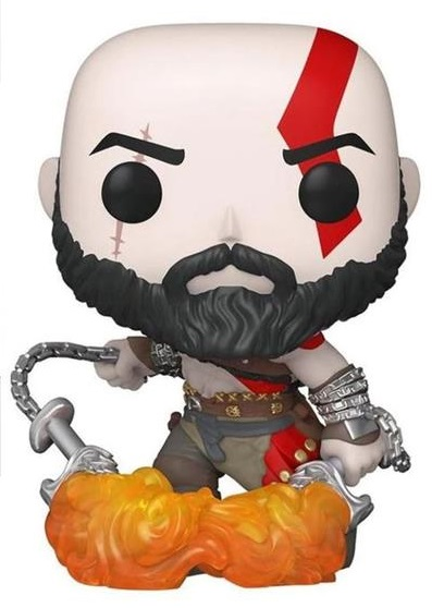 Funko Коллекционная фигурка Funko POP! Vinyl: Games: God Of War: Kratos W/Blades (GW) (Exc) 36392