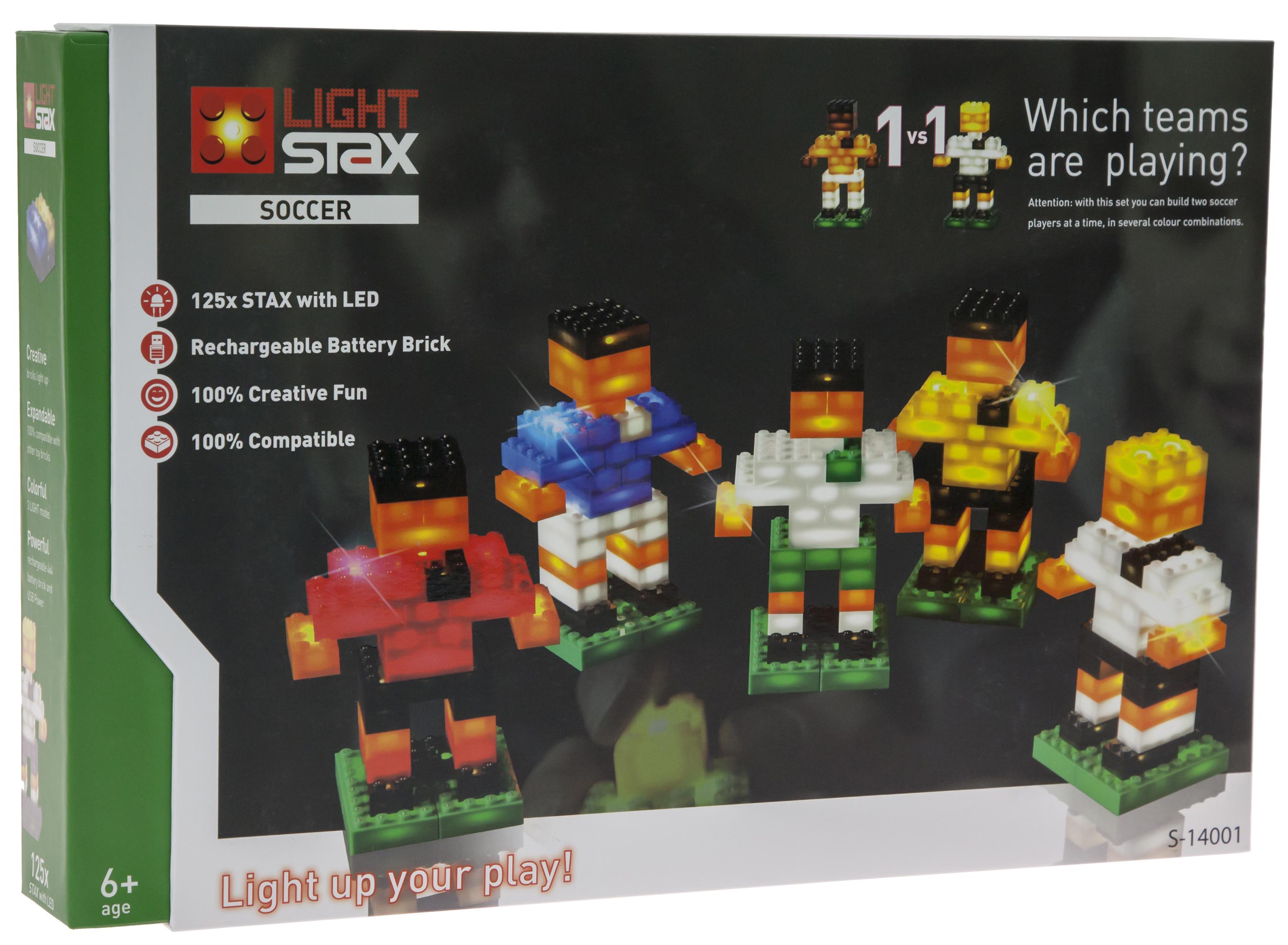 LIGHT STAX Конструктор с LED подсветкой Soccer LS-S14001
