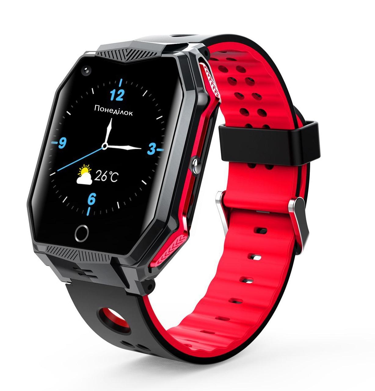 GoGPSme Детские телефон-часы с GPS трекером GOGPS ME X02[X02RD]