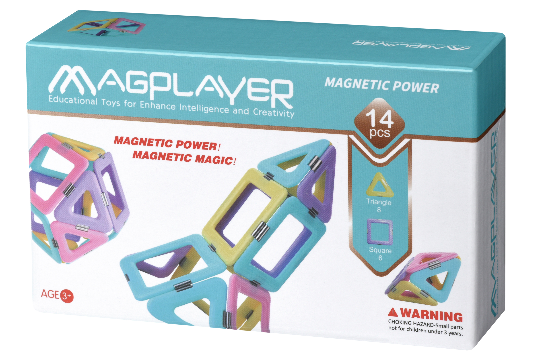 MagPlayer Конструктор магнітний (набір 14 ел.)