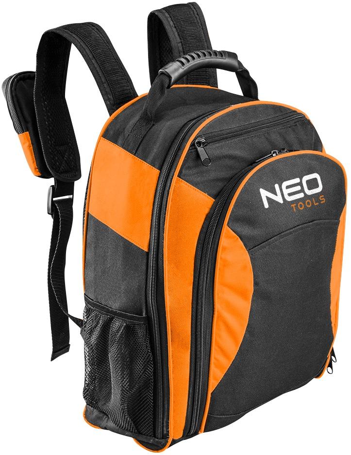 Neo Tools 84-307 Рюкзак для інструменту монтерський з вкладишем, поліестер 600D