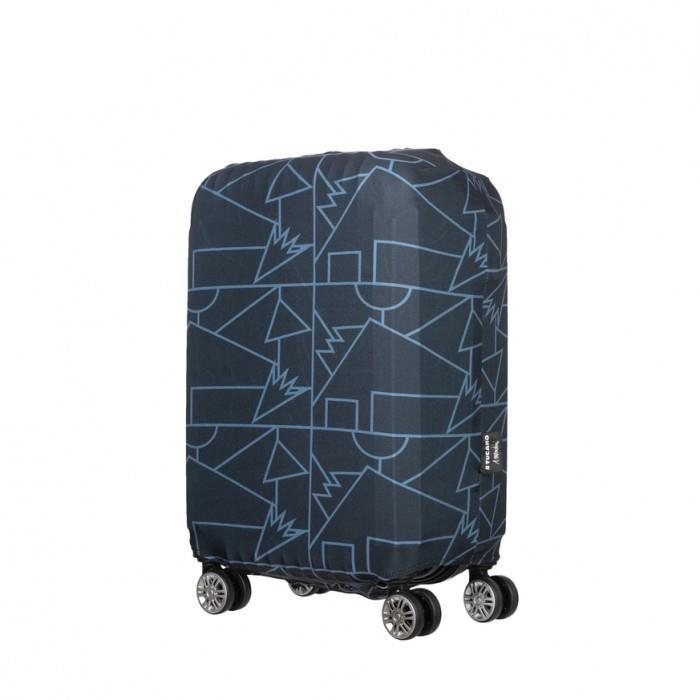 Tucano Чехол для чемодана Compatto Mendini S[BPCOTRC-MENDINI-S-BK]