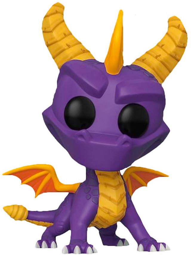"Funko Коллекционная фигурка Funko POP! Vinyl: Games: Spyro the Dragon: 10"" Spyro (Exc) 41430"