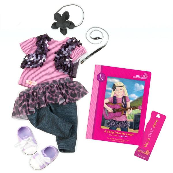 Our Generation Набір одягу для ляльок - Для сцени