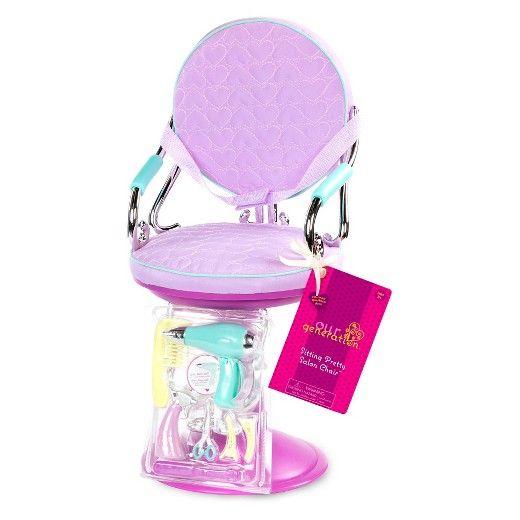 Our Generation Набор аксессуаров - Кресло для салона фиолетовое