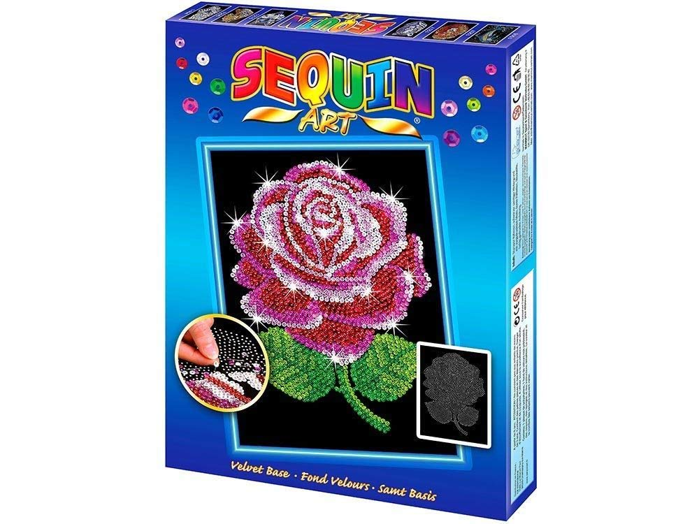 Sequin Art Набор для творчества BLUE Red Rose