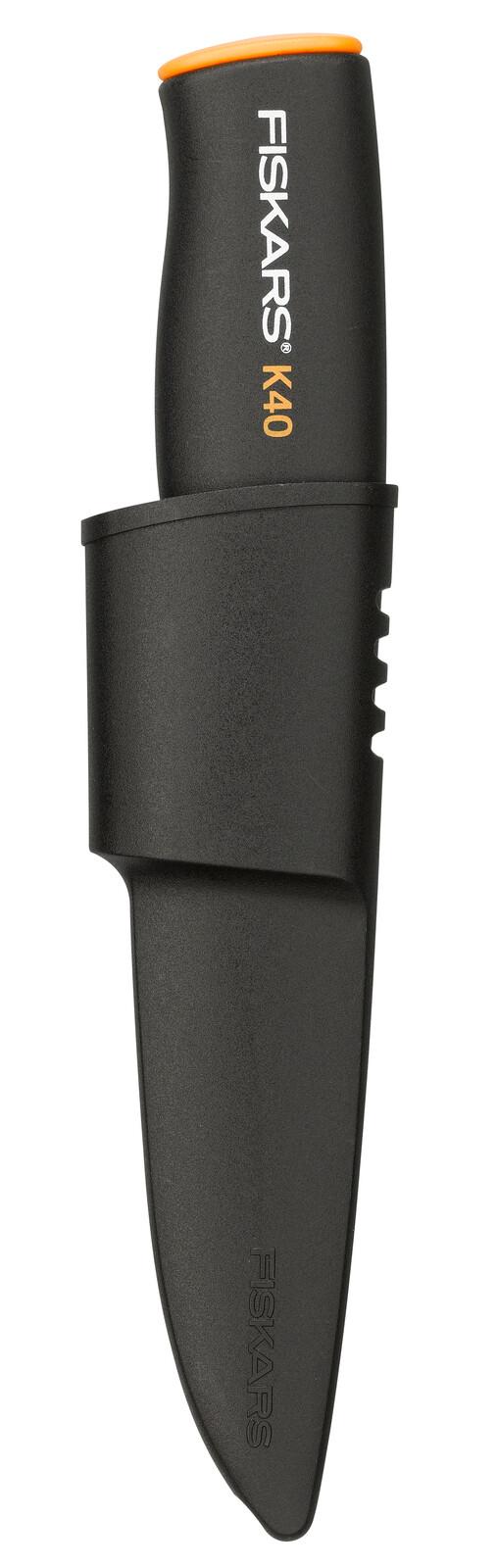 Fiskars Нож общего назначения с чехлом K40,  22,5 см, 70г