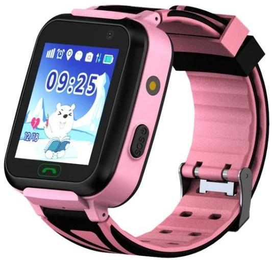 GoGPSme Детские телефон-часы с GPS трекером GOGPS К07[K07PK]