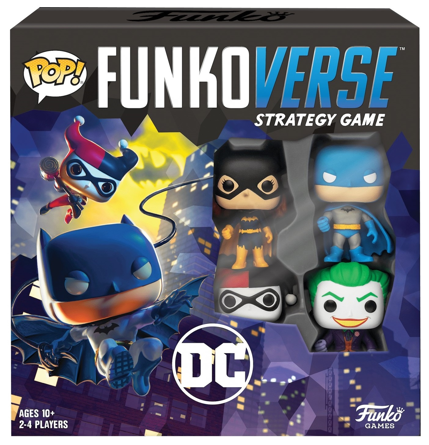 Funko Настольная игра POP! Funkoverse: DC Comics 100 Base Set