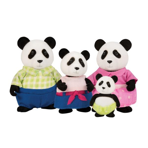 Li`l Woodzeez Набір фігурок - Сім'я Панда