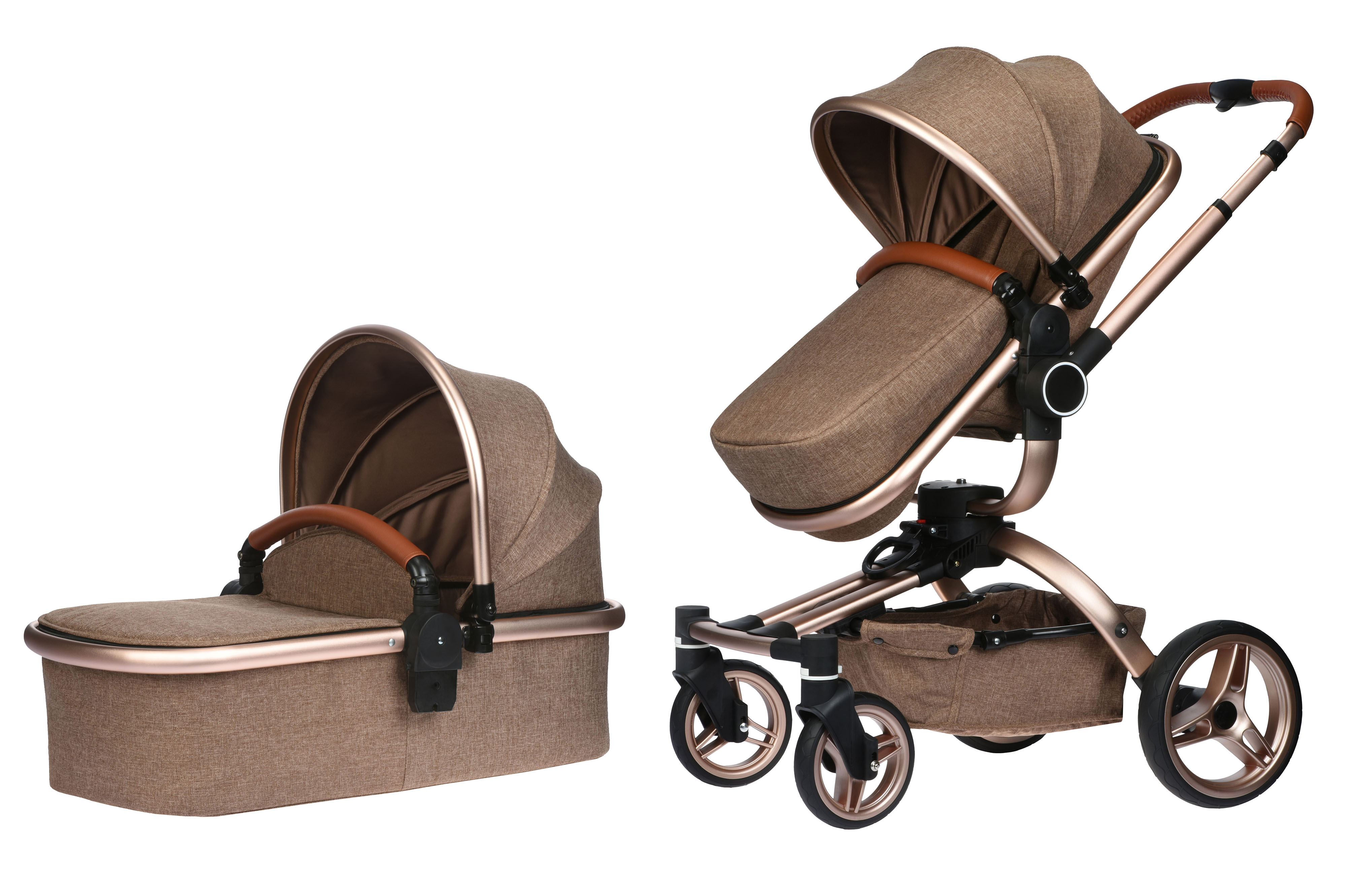 Miqilong Універсальна коляска 2в1 V baby X159[X159-02]
