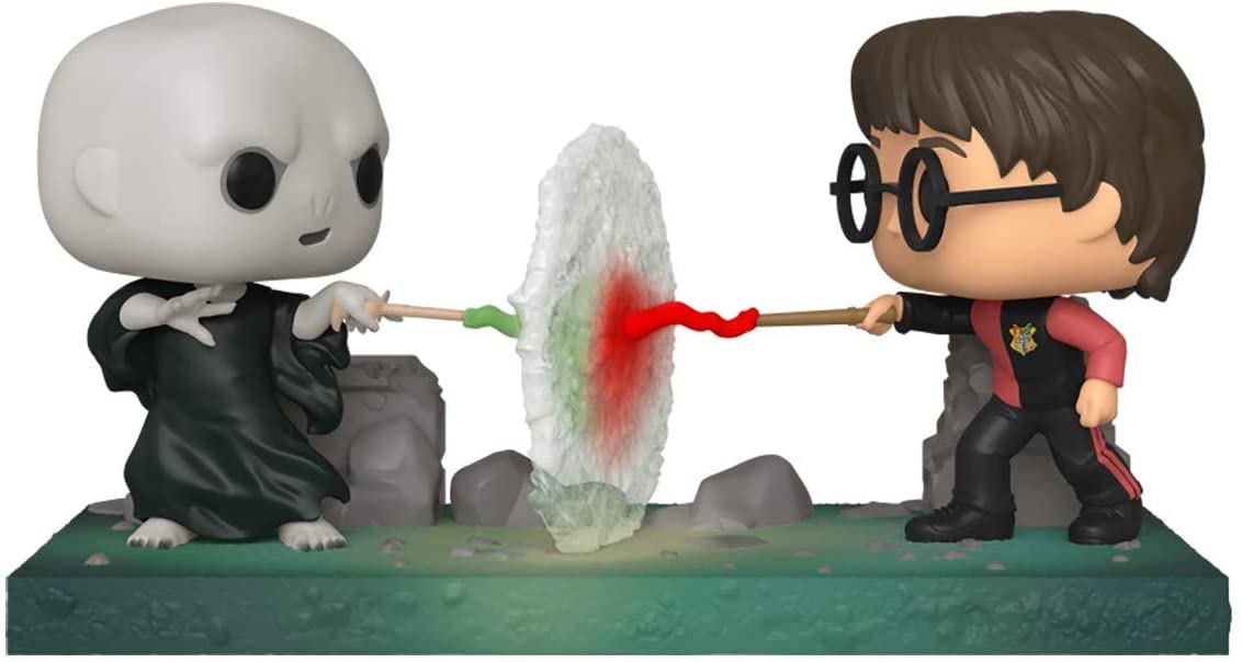 Funko Коллекционная фигурка Funko POP! Vinyl: Moment: Harry Potter: Harry VS Voldemort 48070