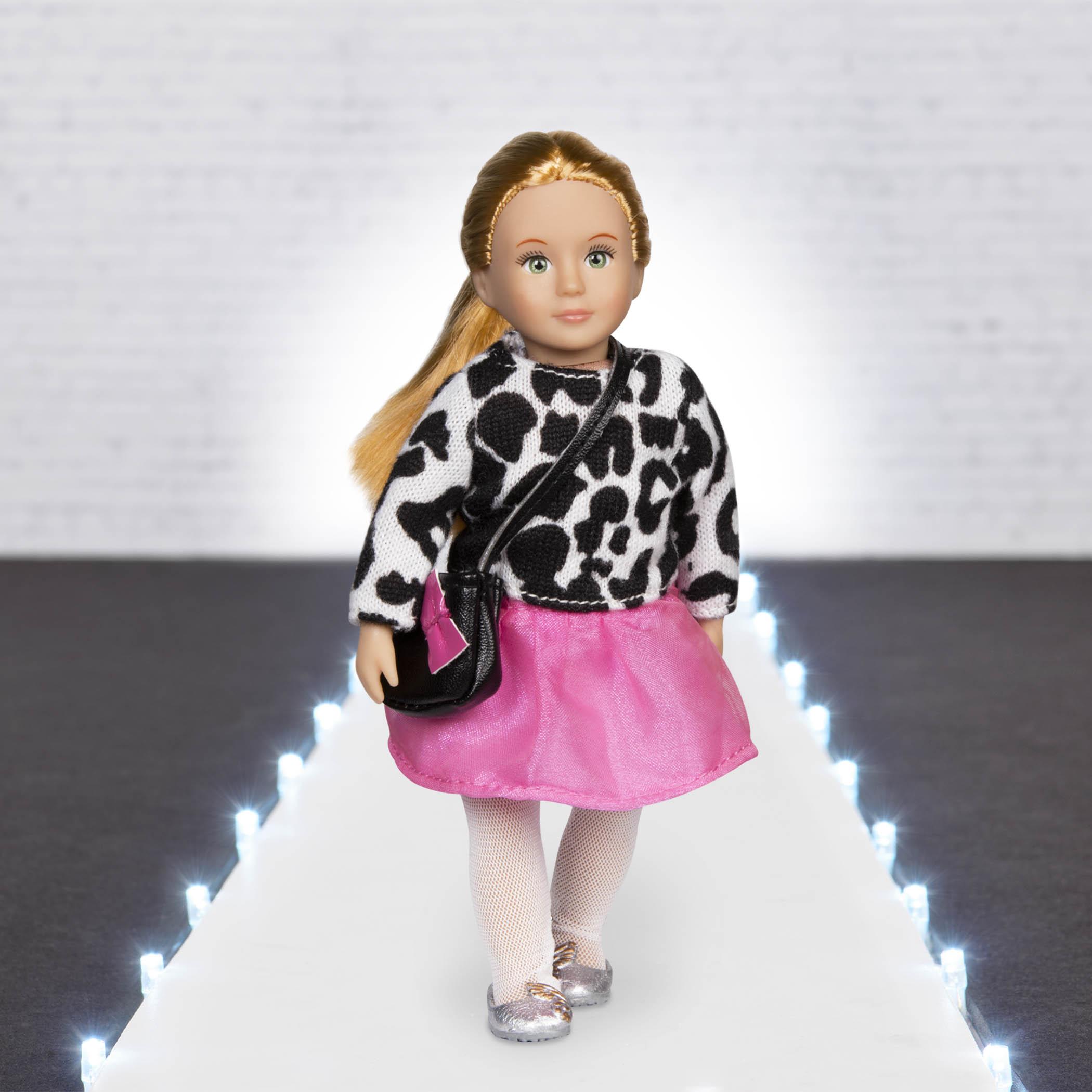 LORI Набір одягу для ляльок - Дуже стильний зі спідницею