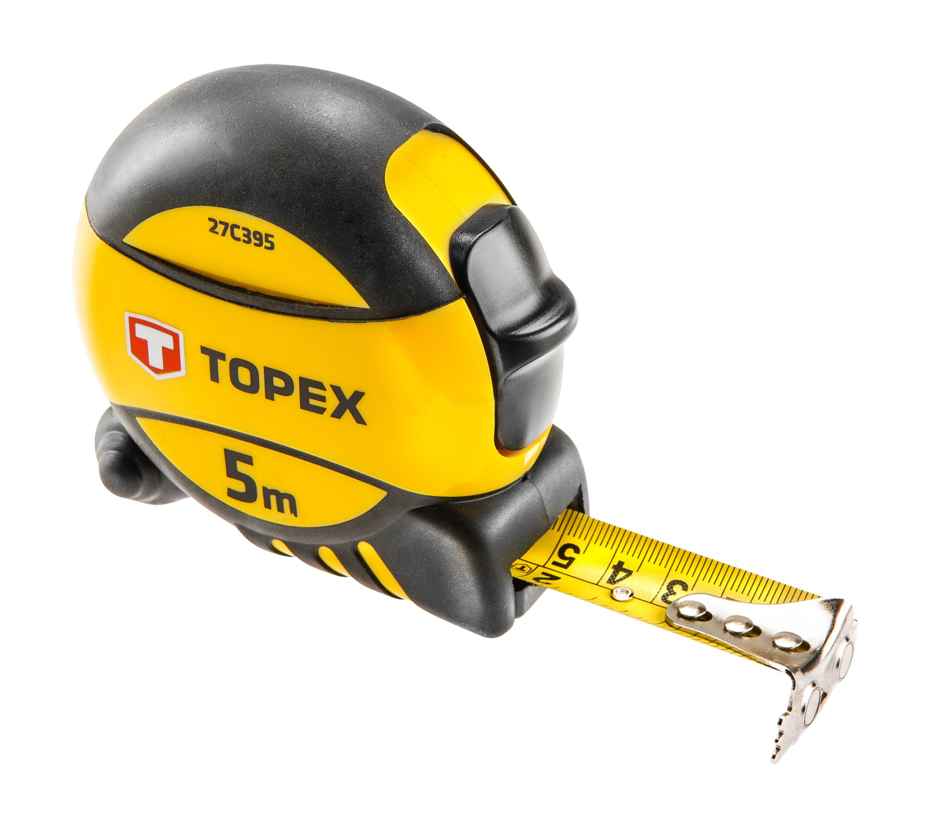 Topex 27C395 Рулетка, сталева стрiчка 5 м x 19 мм
