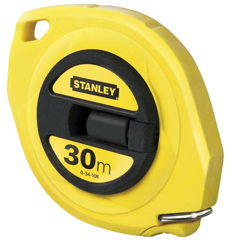 Stanley 0-34-108 Рулетка 30м х 9,5мм стальная лента (блистер)