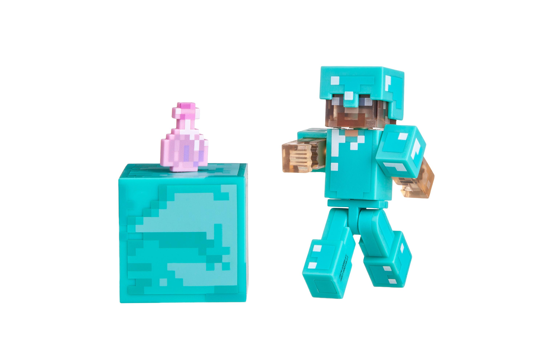 Minecraft Игровая фигурка Steve with Invisibility Potion серия 4