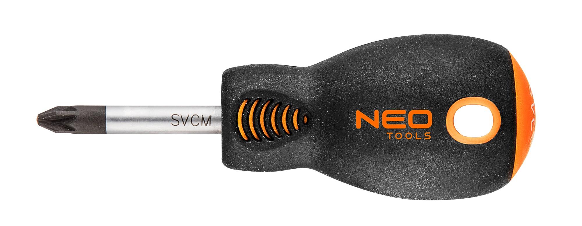 Neo Tools 04-033 Викрутка хрестова PZ2 x 38 мм, CrMo