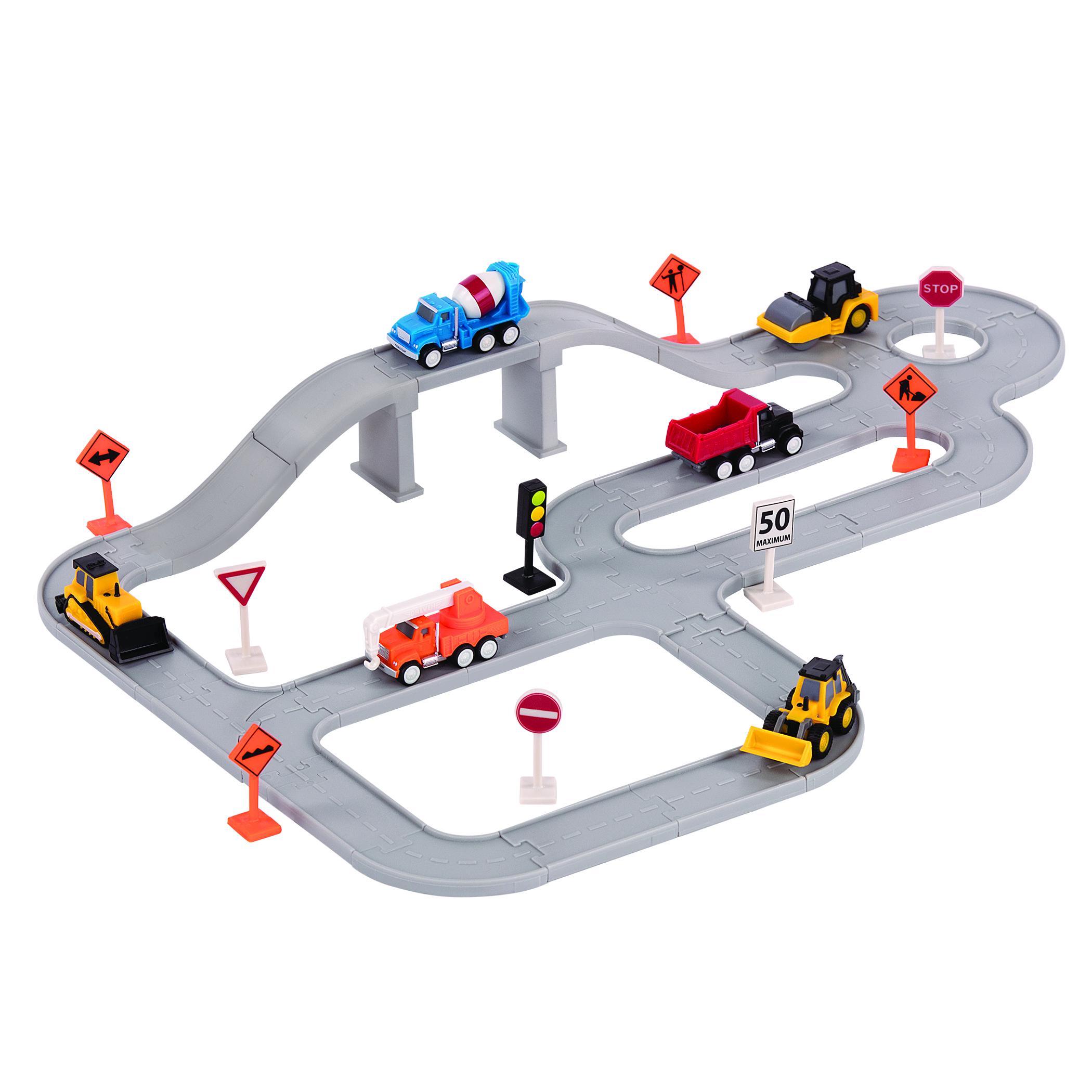 DRIVEN Игровой набор POCKET SERIES Строительная техника