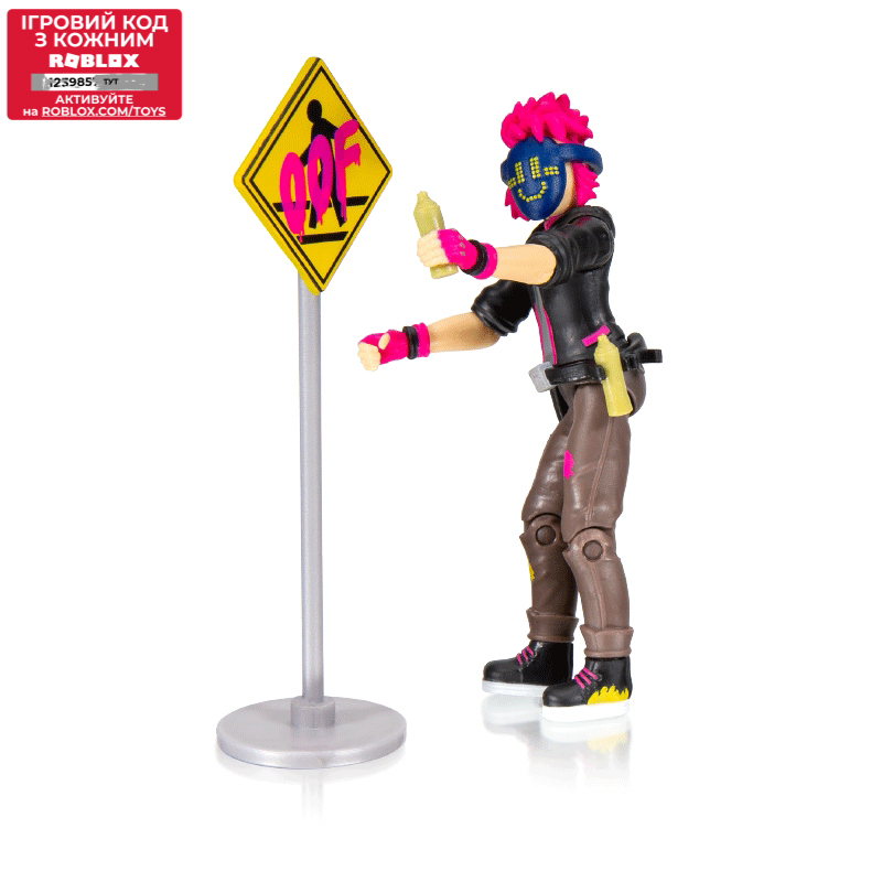 Roblox Игровая коллекционная фигурка Imagination Figure Pack Digital Artist W7