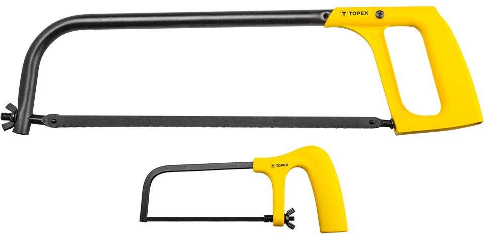 Topex 10A160 Ножовка по металлу: 150 мм, 300 мм